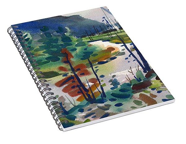 Yellowstone River Spiral Notebook