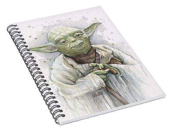 Yoda Spiral Notebook