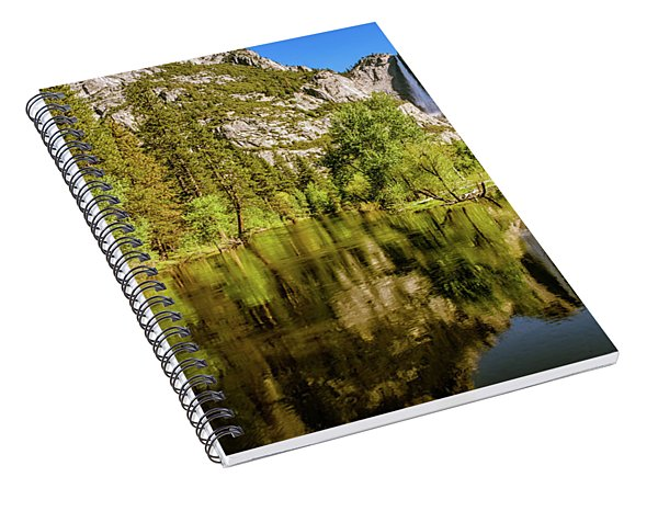 Yosemite Reflections On The Merced River Spiral Notebook