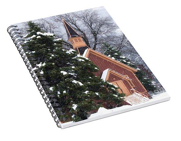 Yosemite Valley Chapel  Spiral Notebook