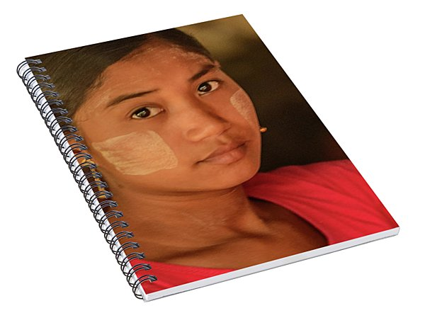 Young Lady  02 Spiral Notebook