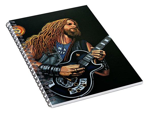 Zakk Wylde Spiral Notebook