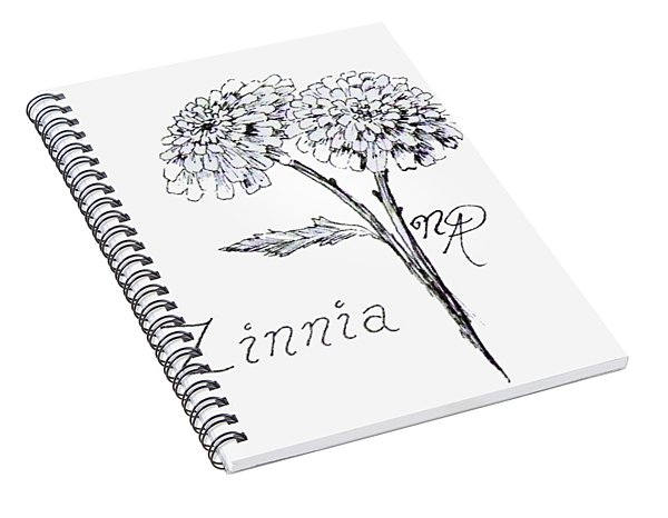 Zannie Zinnia Spiral Notebook
