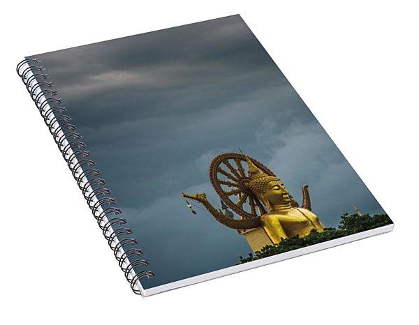 Zen In The Storm Spiral Notebook
