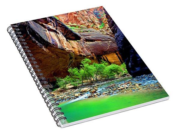 Zion Narrows #2 Spiral Notebook