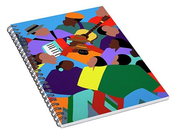 Zydeco Spiral Notebook