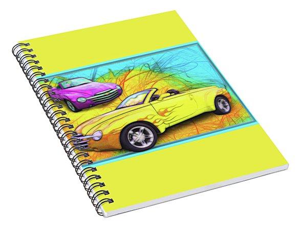 03 Chevy Ssr Spiral Notebook