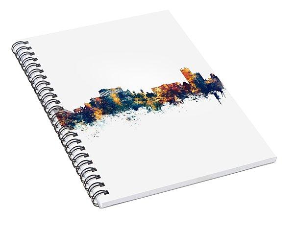 Athens Greece Skyline Spiral Notebook