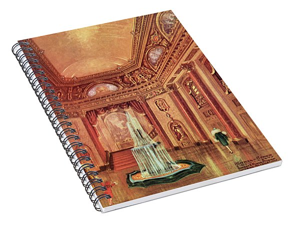 Mastbaum Theatre Spiral Notebook