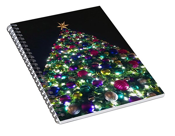 O Christmas Tree Spiral Notebook