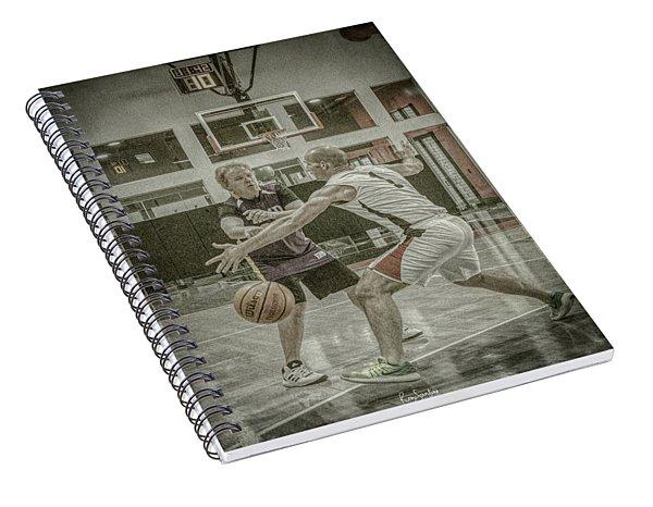 Phil Parsons Spiral Notebook