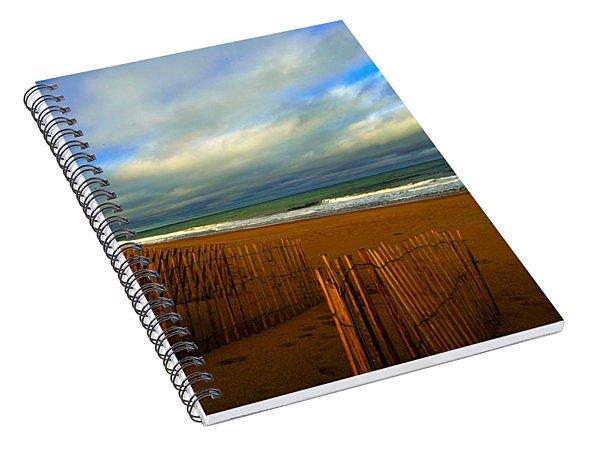 Sand Fences  Spiral Notebook