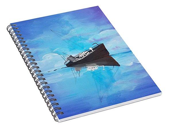 Sinking Ship  Spiral Notebook