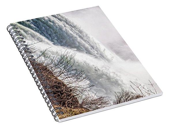 The Mighty Niagara Falls Spiral Notebook