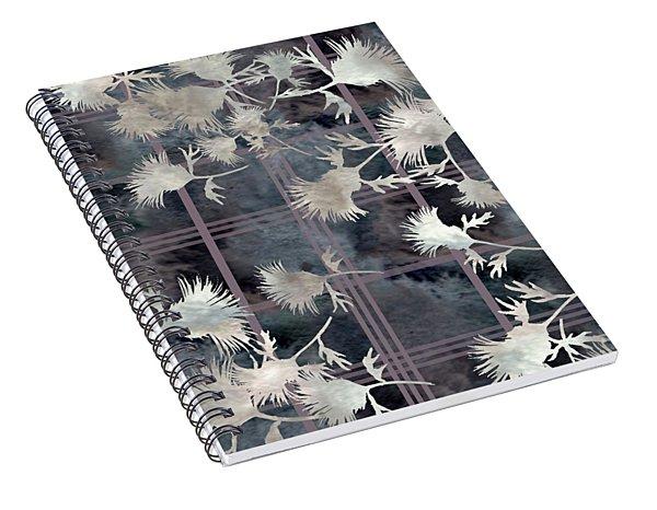 Thistle Plaid  Spiral Notebook