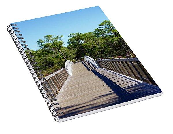 Western Lake Bridge Spiral Notebook