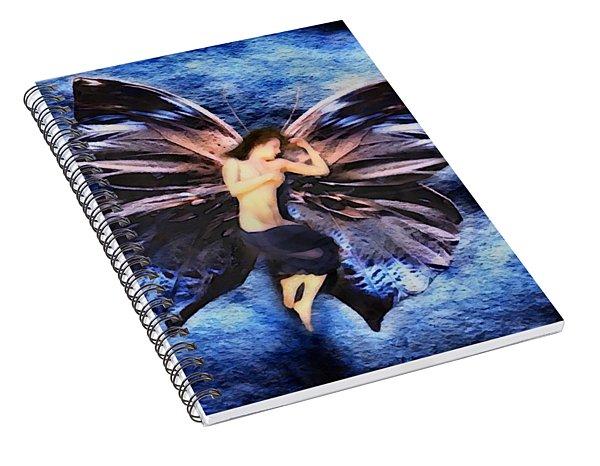 Winter Sleep Spiral Notebook