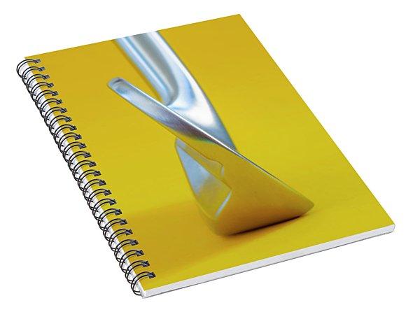 Golf Club Iron Spiral Notebook