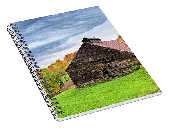 Rustic Barn Spiral Notebook