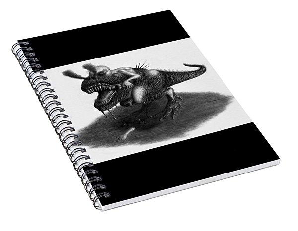 William The Flesheater - Artwork Spiral Notebook