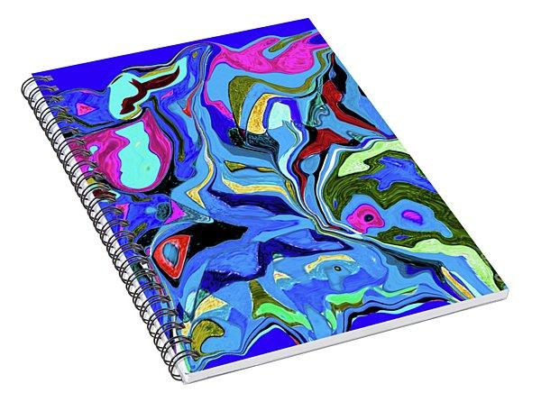 3-19-2010wabcdefg Spiral Notebook