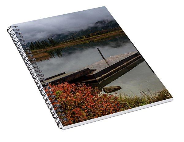 Vermillion Lakes, Banff National Park, Alberta, Canada Spiral Notebook