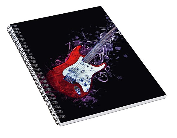Electric Guitar Spiral Notebook