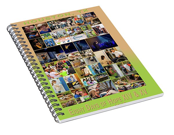 8doh1415 Spiral Notebook