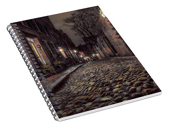 Acorn Street Spiral Notebook
