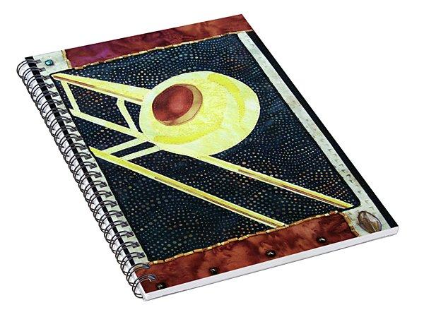 All That Jazz Trombone Spiral Notebook