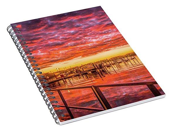 Amazing Sunrise Spiral Notebook
