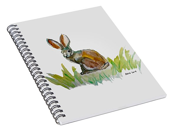 Arogs Rabbit Spiral Notebook