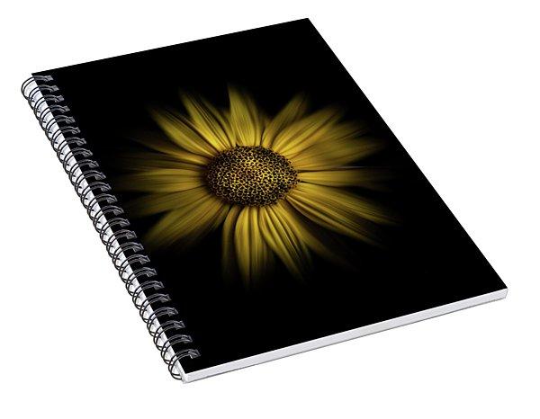 Backyard Flowers 18 Color Flow Version Spiral Notebook