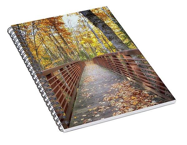 Autumn At Frog Bay  Spiral Notebook