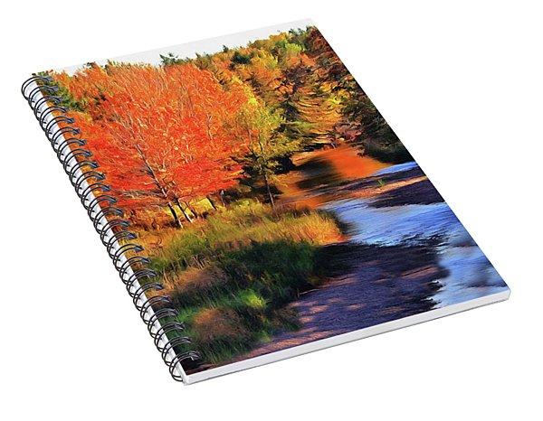 Autumn Glamour Spiral Notebook