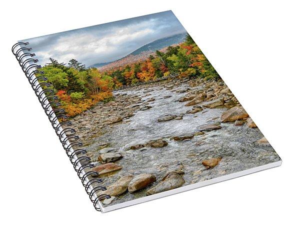 Autumn On The Kanc. Nh Spiral Notebook