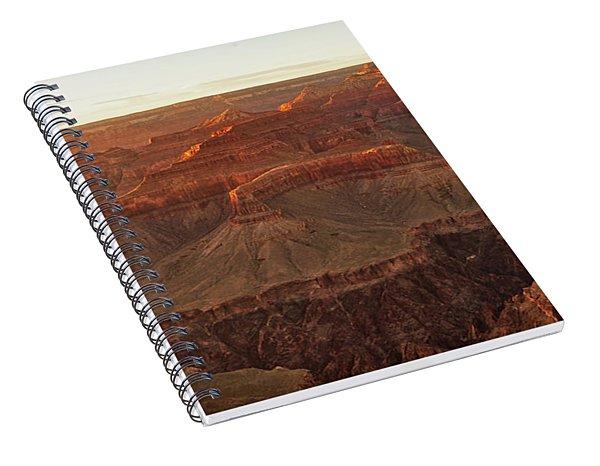 Awash With Light Spiral Notebook
