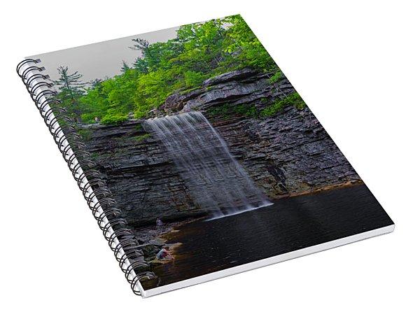 Awosting Falls Spiral Notebook