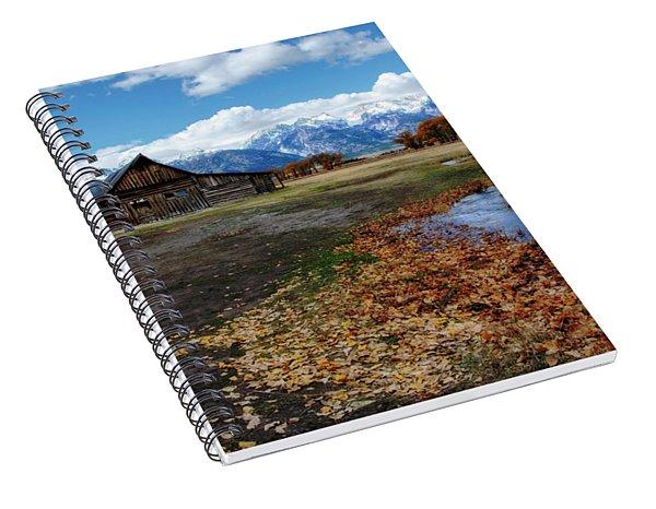 Barn On Mormon Row Spiral Notebook