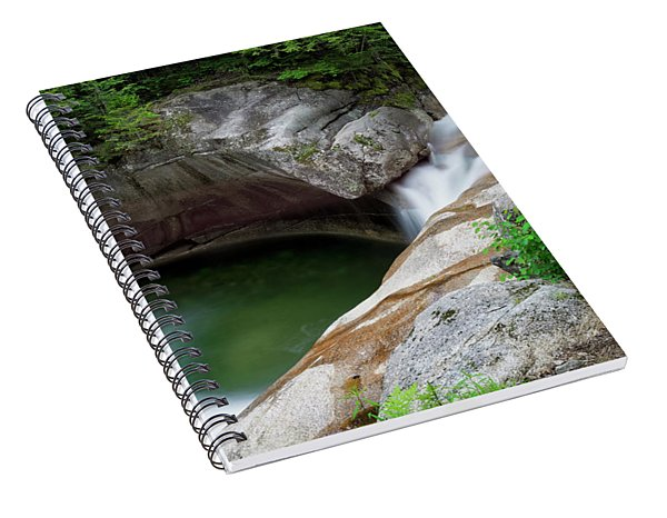 Basin From Above, Nh Spiral Notebook
