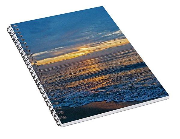 Bethany Beach At Dawn Spiral Notebook
