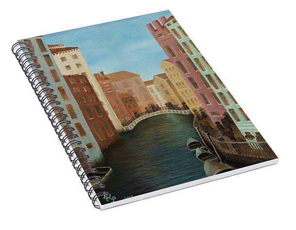 Beyond The Grand Canal Spiral Notebook