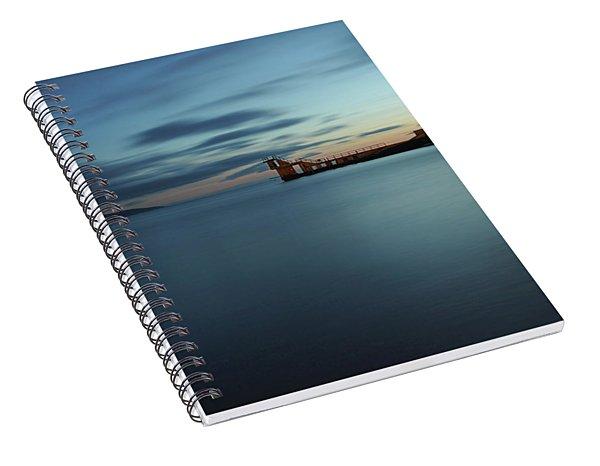Blue Hour Salthill Spiral Notebook