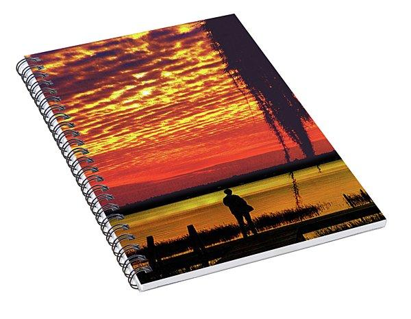 Blue Reflection Spiral Notebook