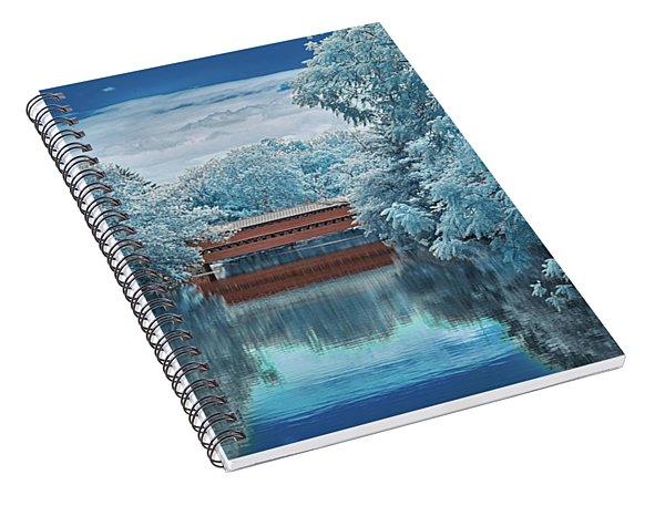 Blue Sach's Spiral Notebook
