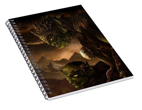 Bolg The Goblin King Spiral Notebook