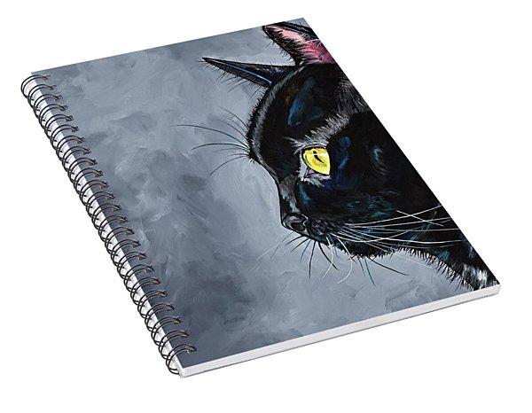 Boo Kitty Spiral Notebook