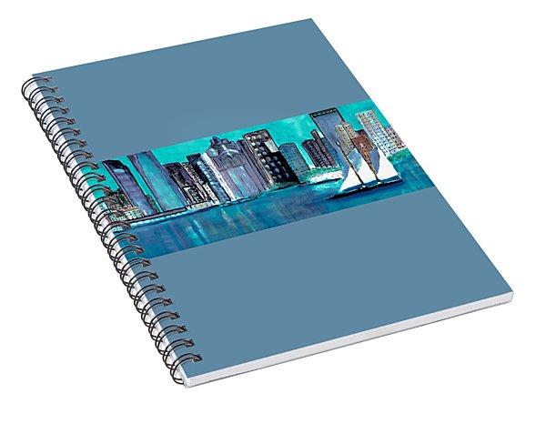 Boston Harbor Spiral Notebook