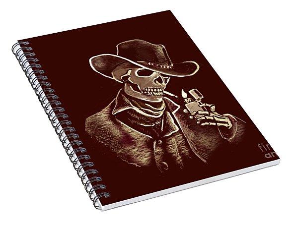 Brown Bones Spiral Notebook