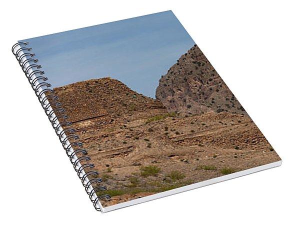 Buddhist Stuppa  Spiral Notebook
